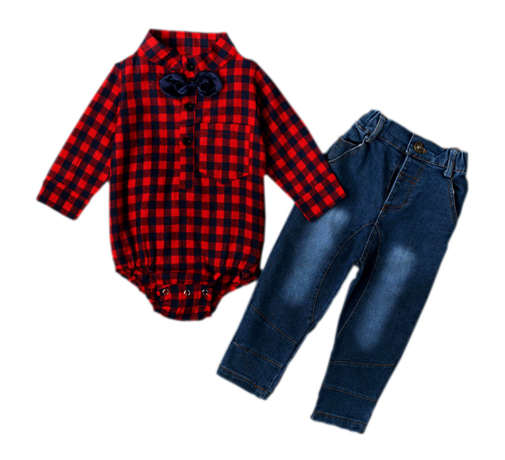 gentleman baby boy clothes set (2)