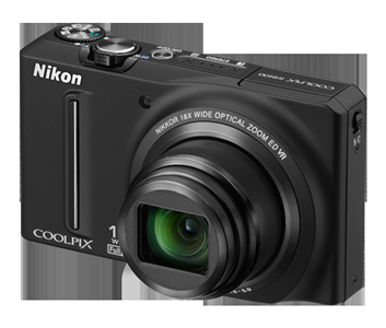 Used,Nikon COOLPIX S9100 12.1 MP CMOS Digital Camera