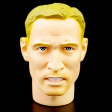 Blond Male Head Sculpts1/6 Scale Model Toys Man Head Carving Model For 12″ Male Action Figure Body Accessory