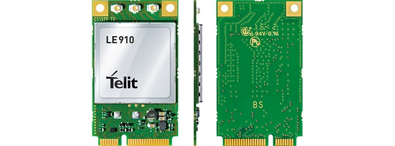 JINYUSHI for LE910 MINI PCIE 4G 100 NEW Original LTE HSPA CDMA UMTS Compact Cellular Module