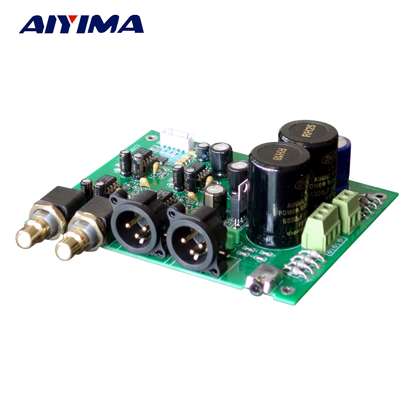 Aiyima Update ES9028Q2M ES9028 I2S input Decoders Mill Board DAC Decode Board With Balanced Output For Amplifier DIY m fx 40du tk es s