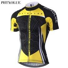 Phtxolue 2016 Pro Team Men's Cycling Jerseys Short Sleeve Bike Jersey Cycling Bicycle Shirts Clothing For Men QY033