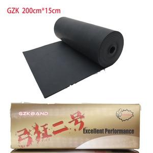 Черная антихолодная резинка для рогатки, 2 метра, замена 200 см * 15 см * 1 мм, плоская резинка для рогатки, может использоваться в холодной