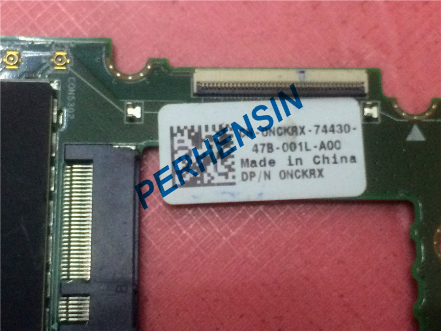 Купить с кэшбэком Original for Dell Venue 11 Pro 5130 Tablet Motherboard System Board 64g NCKRX 0NCKRX cn-0nckrx 100% WORK PERFECTLY