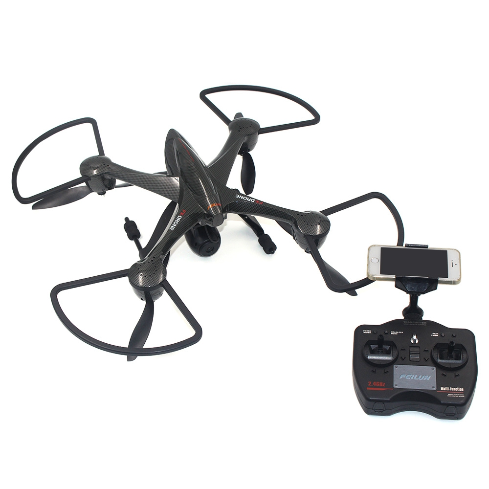 New Original FEILUN FX122C6 HD Camera Drone 2.4G 6-axis Gyro WiFi FPV RC Quadcopter brand new rc drone dron hd camera 2 4g 6 axis gyro rc quadcopter wifi fpv real time video transmission rc drones feilun fx122c6