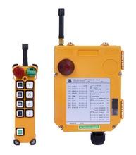 Ventas al por mayor Controlador de Radio Inalámbrica de Control Remoto F24-8D TELEcrane Industrial 1 Transmisor 1 Receptor de la Grúa Del Alzamiento