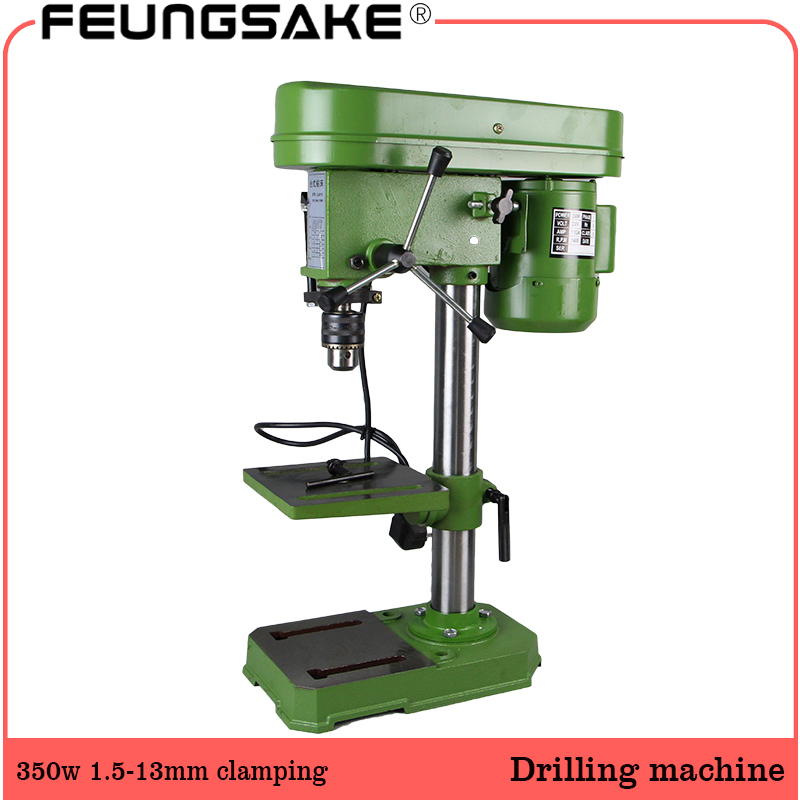 220V AC 350W Rotary Pillar Drill Drilling Press Bench Machine Table Drilling Chuck 1.5-13mm For Wood Metal Electrical Tools220V AC 350W Rotary Pillar Drill Drilling Press Bench Machine Table Drilling Chuck 1.5-13mm For Wood Metal Electrical Tools