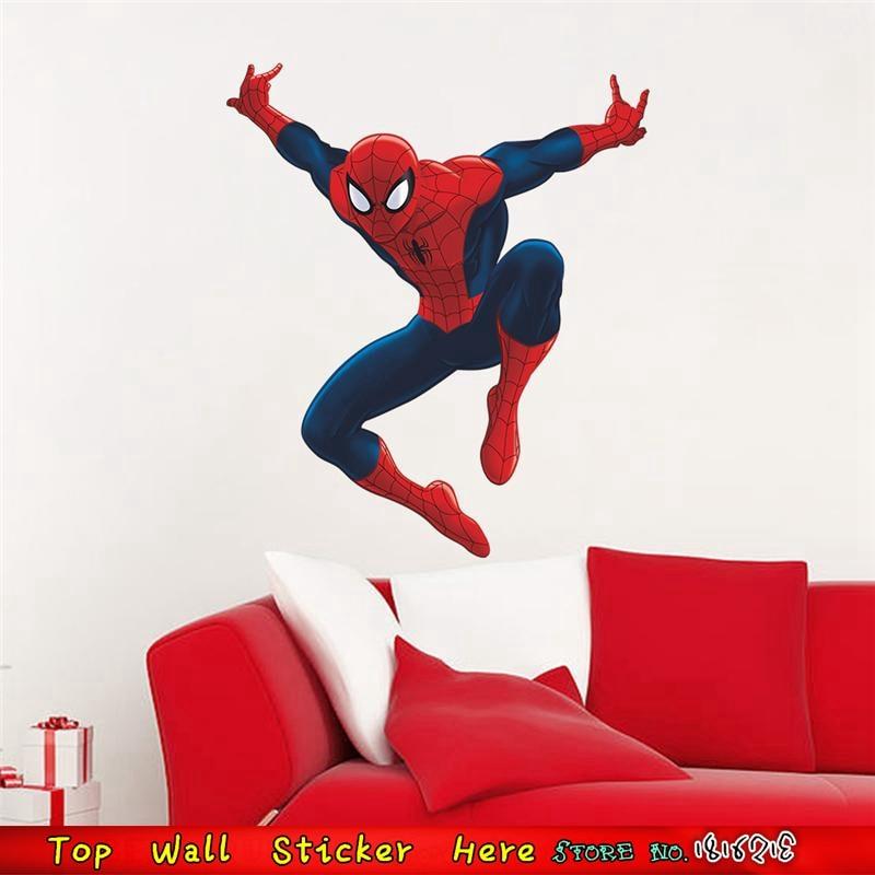 Super Heros Spiderman Wandaufkleber Marvel Wandtattoo Fur