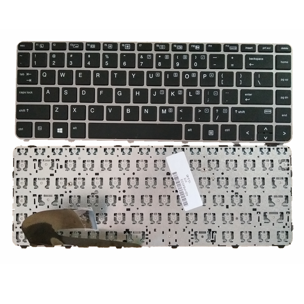 US Black New English Laptop Keyboard For HP Elitebook 840 G3 745 G3 With pointing stick oem new cs03xl battery for hp mt42 mt43 mobile thin clien elitebook 840 g2 850 g3 g4