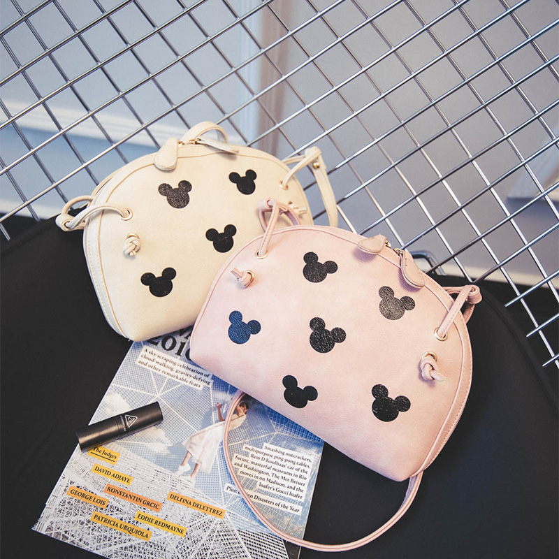 New Women Envelope Messenger Bags Minnie Mickey Bag Leather Handbags Ladies Clutch Bag Bolsa Feminina Bolsas Female Handbag vogue star women bag for women messenger bags bolsa feminina women s pouch brand handbag ladies high quality girl s bag yb40 422