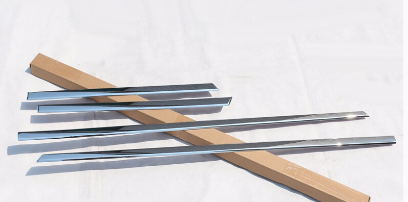 chrome side door molding trim for Mercedes Benz ML accessories car styling (9)