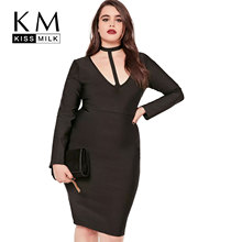 KissmilkPlus Size New Fashion Women Clothing Sexy Halter Sheath Female Dress Large 5XL 6XL 7XL
