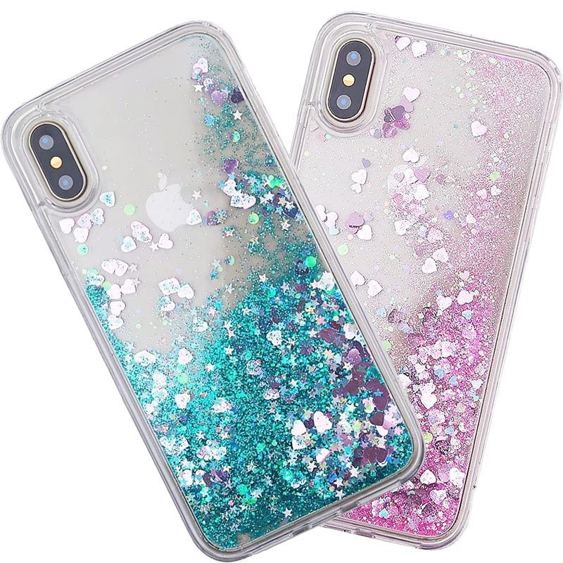 Cellphones & Telecommunications Half-wrapped Case Honesty For Huawei Y6 2 Case Fashion Glitter Bling Quicksand Water Liquid Soft Back Case Cover For Huawei Y6 Ii Case Coque Capa Fundas