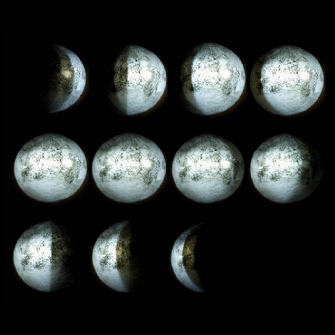 Niesamowity pilot LED Healing Moon Wall Ceiling Night Lamp Kids Gifts - Lampki nocne - Zdjęcie 2