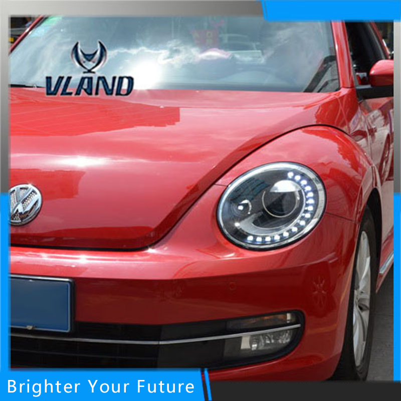 Phares pour Volkswagen Beetle 2011 2012 2013 2014 2015 2016 assemblage de phares Auto LED DRL