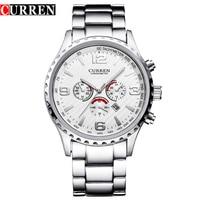 Original New CURREN Luxury Relogio Masculino Casual Brand Orologio Date Men Sports Reloj Military Stainless Quartz