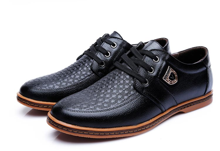 HTB1n0aQXAfb uJkHFNRq6A3vpXa7 2019 Men Leather Casual Shoes Men's Lace Up Footwear Business Adult Moccasins Male Shoes Chaussure Home