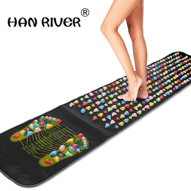 HANRIVER Home Comfortable  Massage Cushion Gravel Road Massage Mat Mat