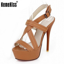 34 43 Sexy Cross tie Open toe Gladiator Sandals 2016 Red Bottoms High Heels Platform Shoes