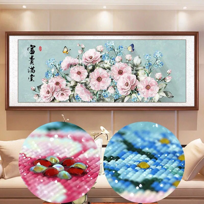 Special Shaped Diamond Painting Plant Landscape Modern pattern DIY 5D Full Drill Cross Stitch Kits Crystal Arts Flowers-in Diamond Painting Cross Stitch from Home & Garden    1