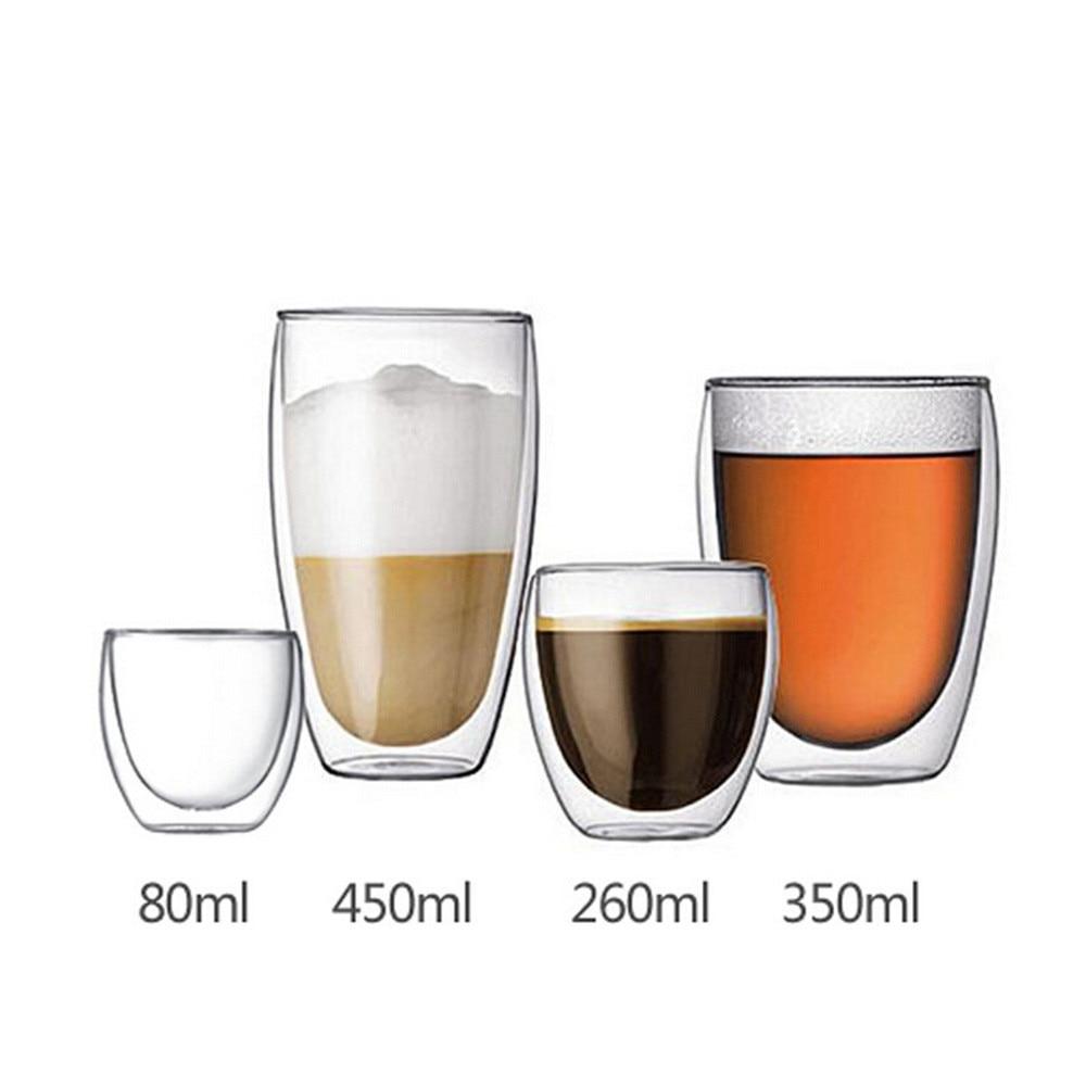 кофе стекла с двойными стенками