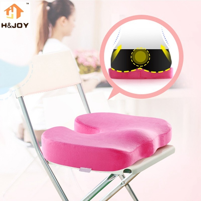 New Coccyx Orthopedic Memory Foam Seat Cushion For Chair Car Office Home  Bottom Seats Massage Cushion
