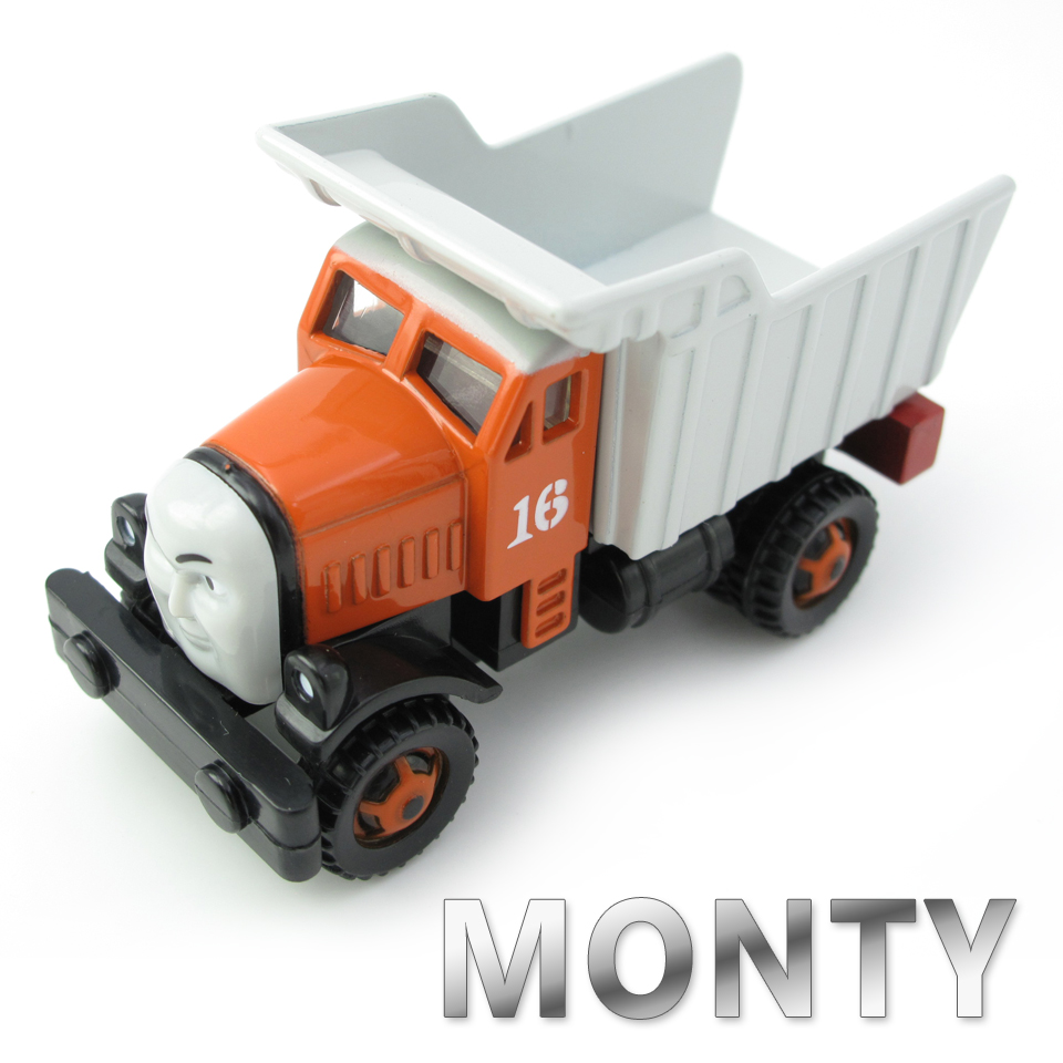 Diecasts Vehicles Thomas T093D MONTY Thomas And Friends Magnetic Tomas Truck Car Locomotive Engine Railway Train Toys for Boys