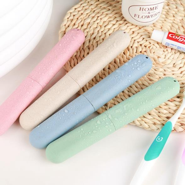 Pastel Colored Toothbrush Case for Travel
