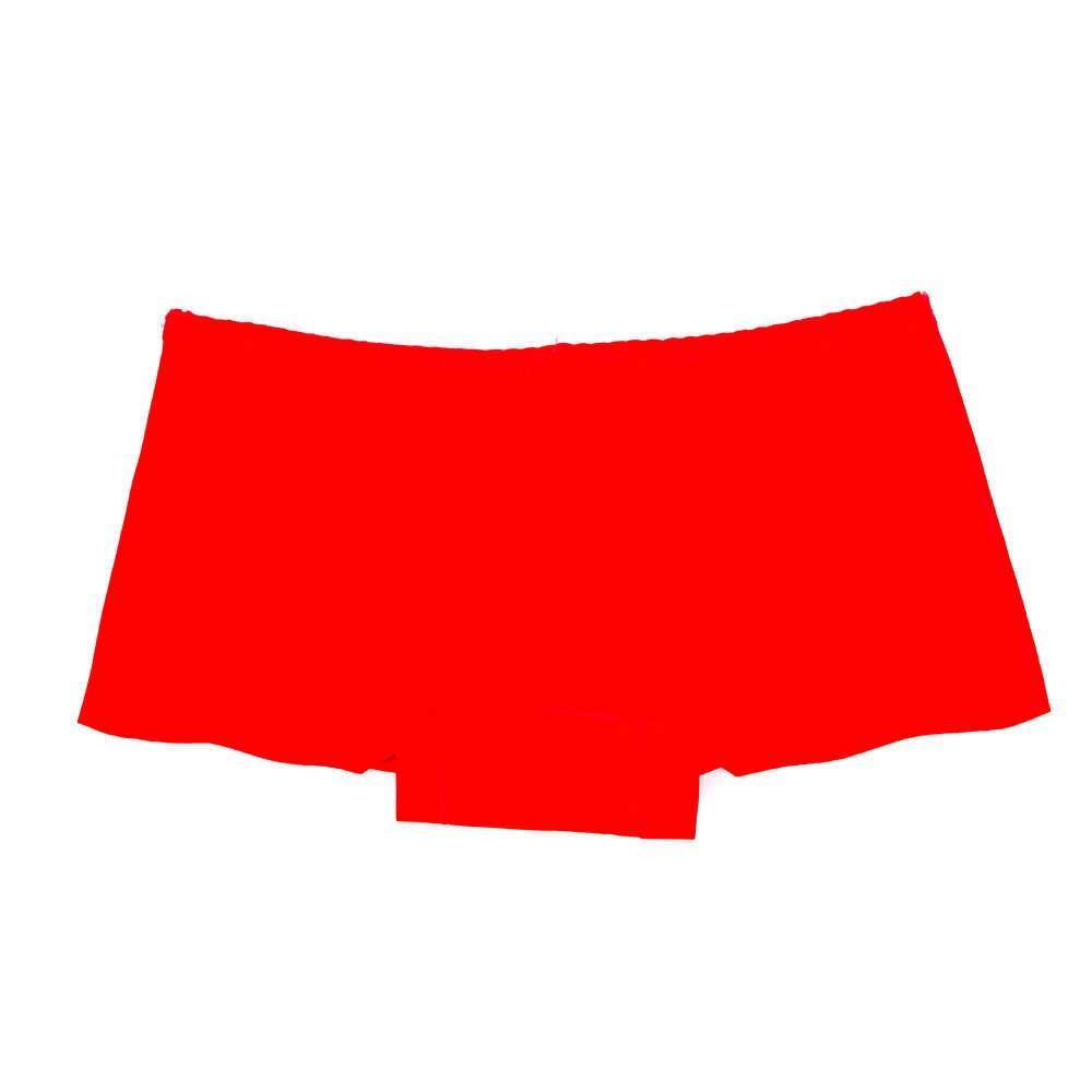 Mode Sexy femmes fille string doux Boxer Spandex Invisible entrejambe sans couture Lingerie culotte de sous-vêtements slip