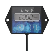 цена на ABD Motorcycle ATV Waterproof Tachometer Hour Meter Speed ​​Timer ​​Reset Timers auto accessories high quality  Timer