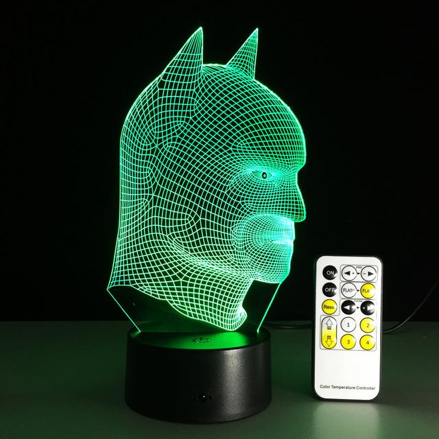 Batman 3D LED Light