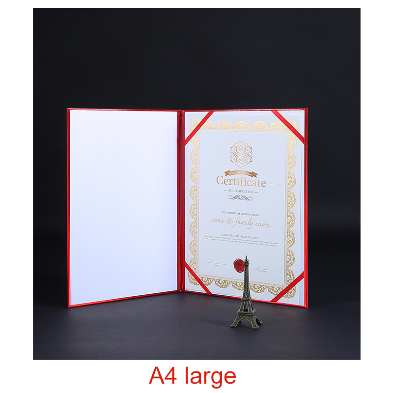 Cuckoo honor certificate shell A4 hard certificate paper cover A5 awards creative thickening envelope nano waterproof in File Folder from Office School Supplies