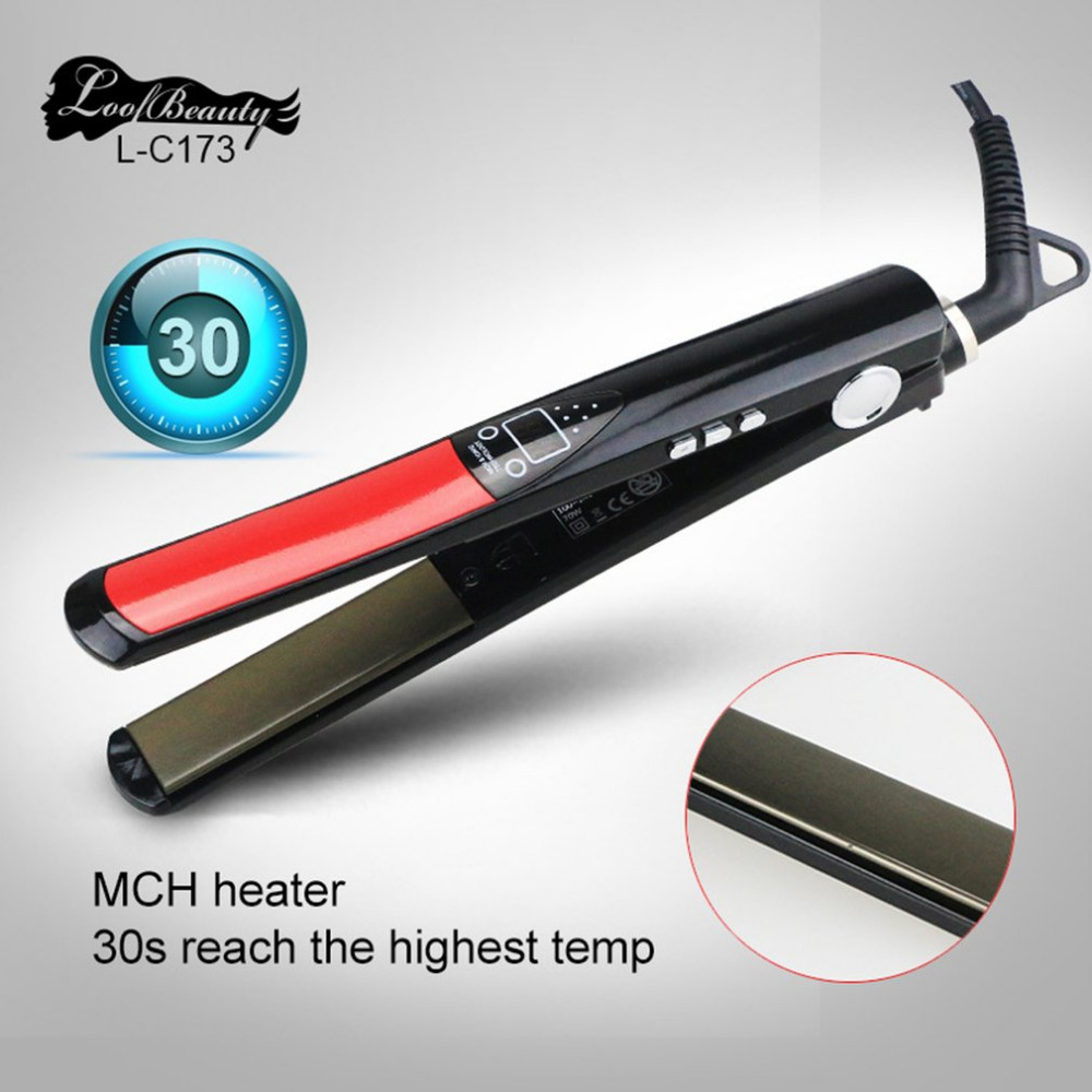 Electric Ceramic Hair Straightener Flexible Board With LED Straight Splint Hair Styling Appliance Electric Splint Straight Hair Electric Ceramic Hair Straightener Flexible Board With LED Straight Splint Hair Styling Appliance Electric Splint Straight Hair