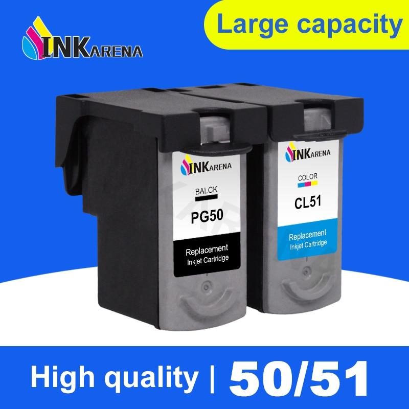 PG-50 CL-51 Cartuccia di Inchiostro Per Canon PG50 CL51 Pixma iP2200 iP6210D iP6220D MP150 MP160 MP170 MP180 MP450 MP460 MX310 Stampante inchiostro