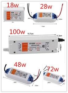 Image 1 - 3 yıl garanti yeni kaliteli kompakt LED sürücü güç kaynağı trafo DC12V 18W 100W