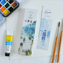 30pcs/box Creative Impression gallery Student Bookmarks Stationery Realistic Kawaii Cartoon Office School Supply