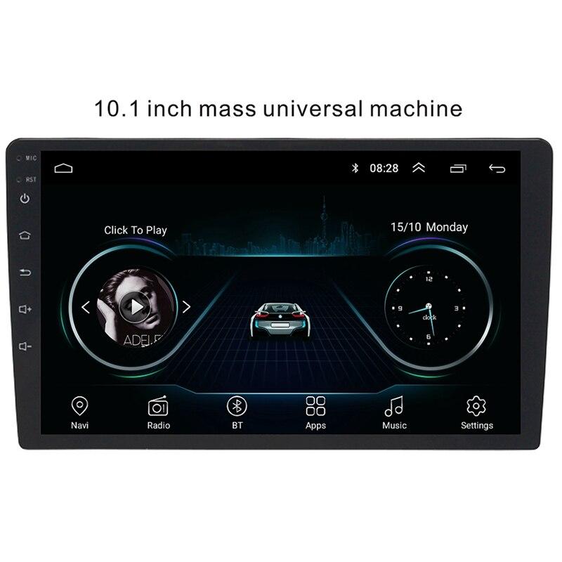 10.1 pouces Android 8.1 universel lecteur Radio de voiture Gps Navigation Wifi Bluetooth Mp5 lecteur - 3