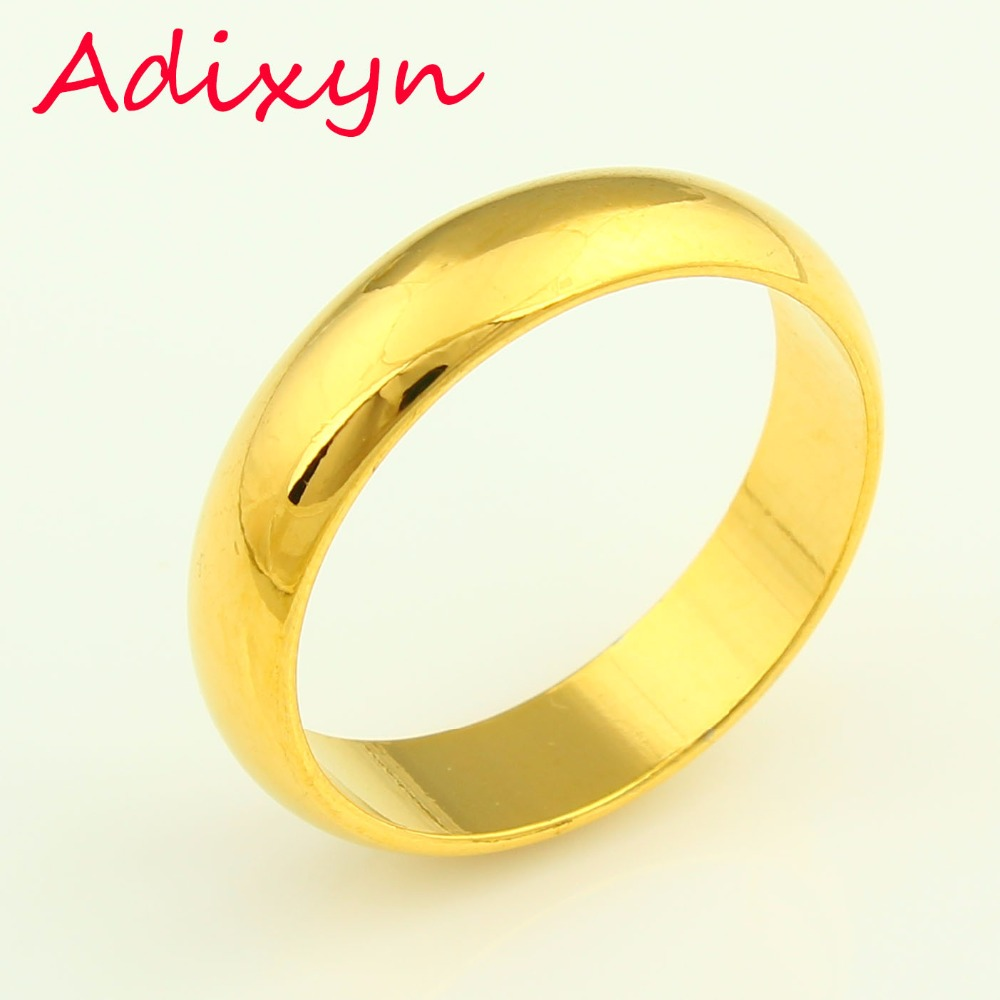 wide bands floral gold media flower ring yellow wedding band women for