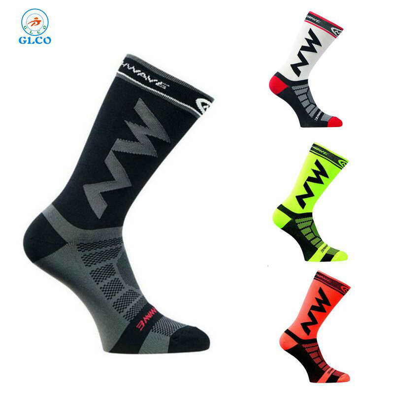 2019 High quality Professional sport socks Breathable Road Bicycle Socks Outdoor Sports Racing Cycling Sock Footwear