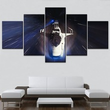 Modern Artwork Living Room Or Bedroom Home Decor Wall Spacecraft Painting Canvas Print Type 5 Piece Game Star Citizen Poster