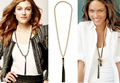 Moda de Marfil Beaded Collar Largo 2016 Famoso Diseñador de la Marca de La Joyería Mis Órdenes