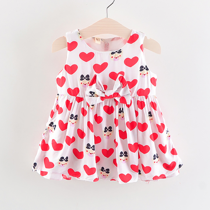 BibiCola baby girl dress summer 2018 casual dresses cotton kids clothes children girls princess party clothing vestido infantil baby girl summer dress children res minnie mouse sleeveless clothes kids casual cotton casual clothing princess girls dresses page 9