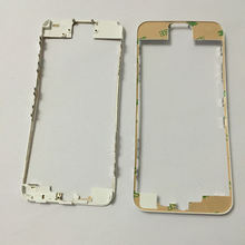 100pcs lot Black White Front LCD Frame Bracket Housing Middle Bezel with 3M Sticker for iPhone
