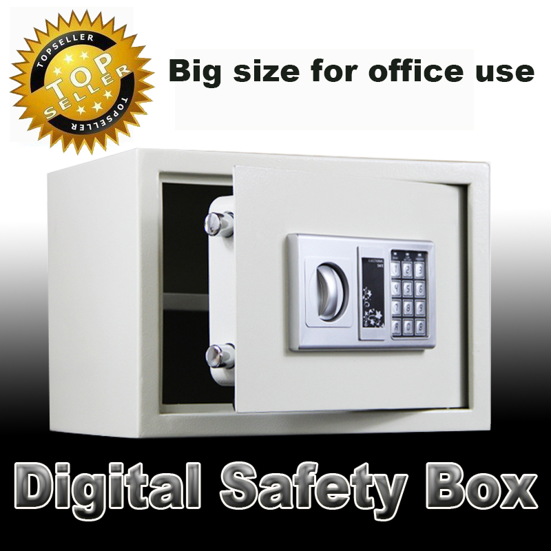 Digital safe box for office security secret box electronic password safes for money Jewellery Gold caja