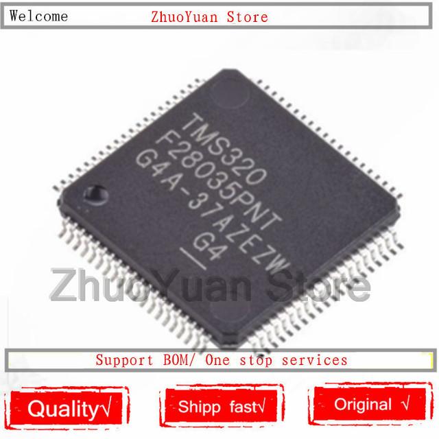 1PCS/lot New original TMS320F28035PNT TMS320F28035 IC chip
