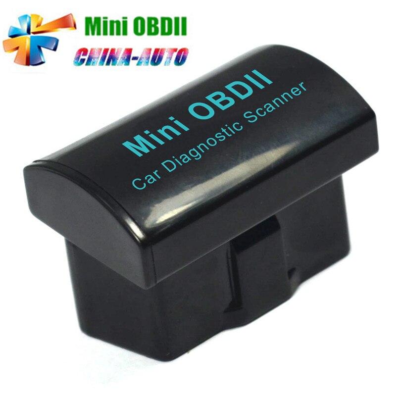 5pcs/lot 2016 Best Quality Super Mini OBDII Bluetooth V2.1 Auto Car Diagnostic Tool ELM 327 OBD2 Scanner For Android/ Windows