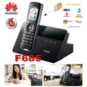 Huawei Terminal F685 Sim-Card-Slot WCDMA Unlocked Wireless New 3G GSM with 500pcs Fixed