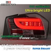 Hireno Tail Lamp For Honda City 2009 2010 2011 LED Taillight Rear Lamp Parking Brake