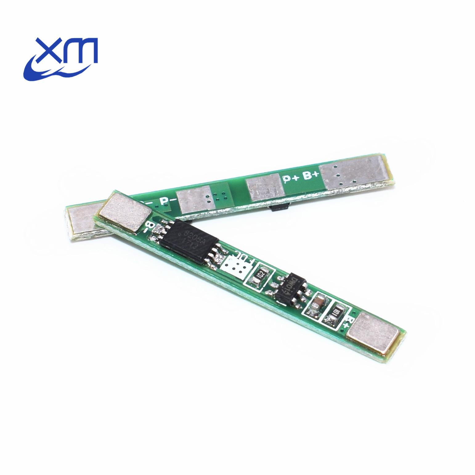 5PCS <font><b>1S</b></font> 3.7V 3A li-ion BMS PCM <font><b>battery</b></font> <font><b>protection</b></font> <font><b>board</b></font> pcm for 18650 lithium ion li <font><b>battery</b></font> I51 image