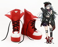 Girls Frontline Cosplay Shoes Boots Halloween Carnival